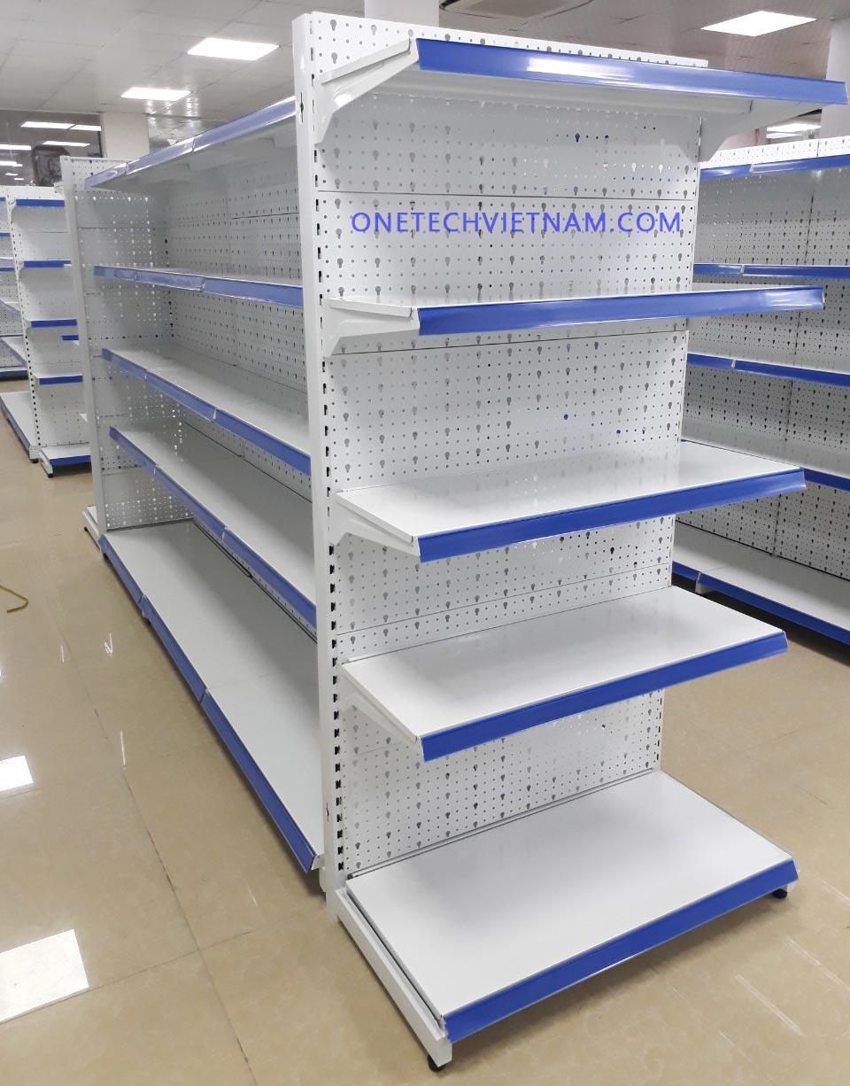 kệ siêu thị tôn đục lỗ