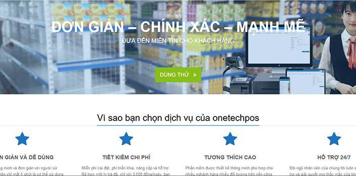 phần mềm bán hàng onetechpos
