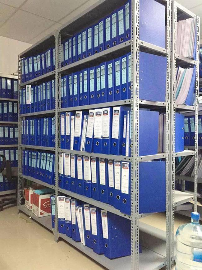 Kệ để lưu trữ hồ sơ, tài liệu
