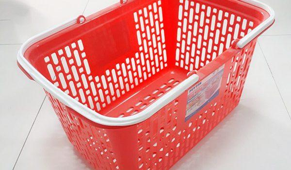 Giỏ nhựa siêu thị Onetech: Giá rẻ, BH 12 tháng