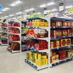 Kệ trưng bày bánh kẹo giá rẻ, tiện lợi cho siêu thị, cửa hàng