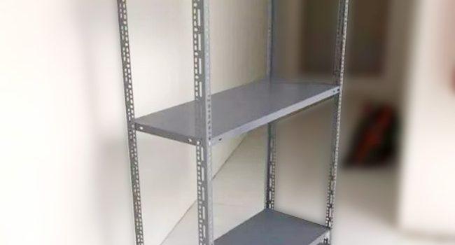 Kệ sắt v lỗ 3 tầng