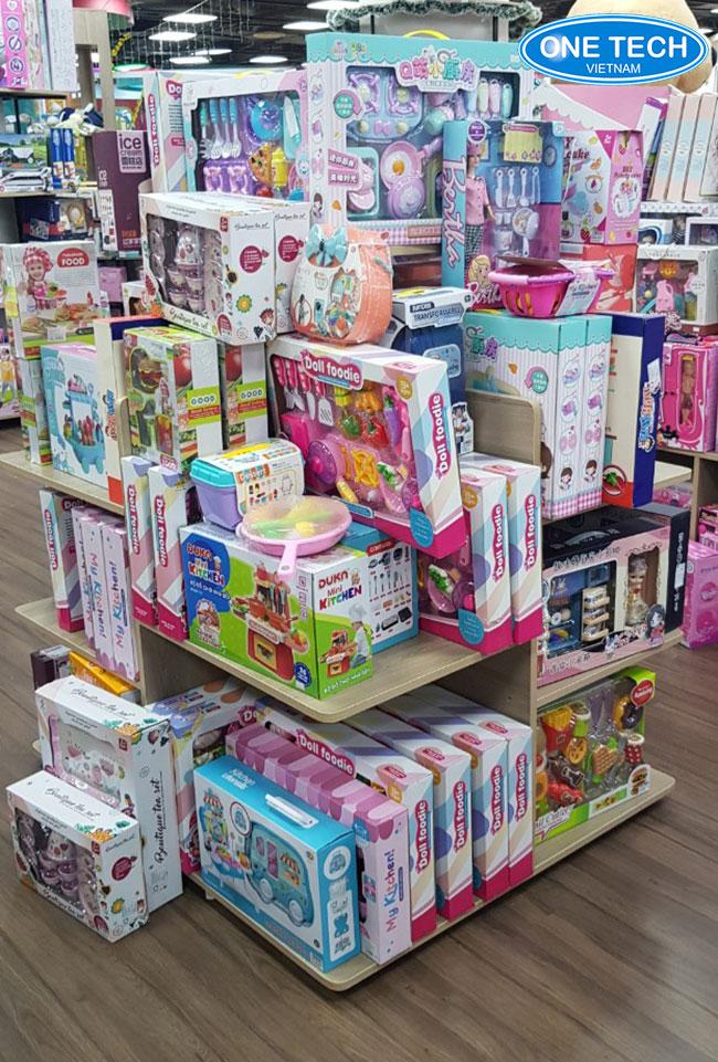 Tiêu chuẩn kê xếp đồ chơi trẻ em