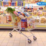 Xe đẩy siêu thị Onetech: Chất lượng cao, giá rẻ, BH 2 năm