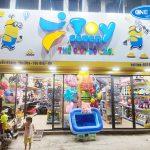 Dự án lắp đặt giá kệ thế giới đồ chơi Toy Seven