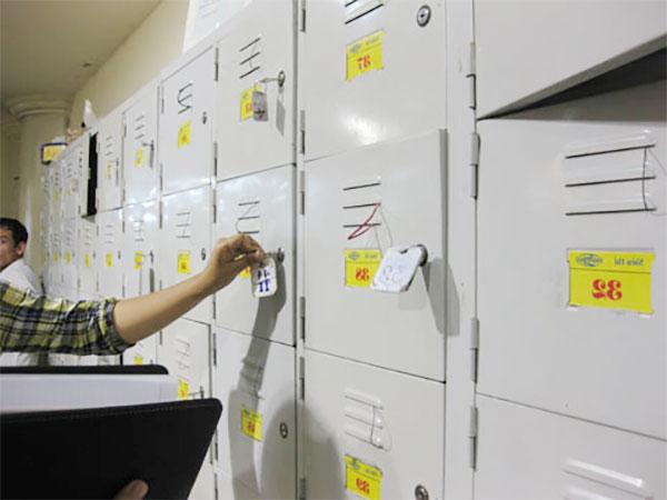 Những mẫu tủ có khóa giữ đồ không thể thiếu trong các siêu thị, cửa hàng, shop...