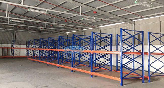 Dự án lắp đặt kệ hạng nặng cho CK Tech tại Kiến An, Hải Phòng