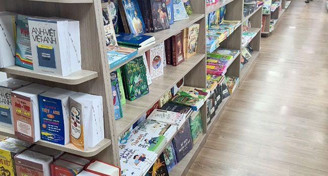 Kệ trưng bày sách tuyệt đẹp cho siêu thị, nhà sách