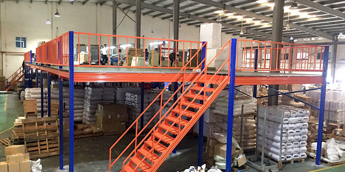 Dự án lắp đặt kệ sàn lửng cho Công ty Ferroli Asean