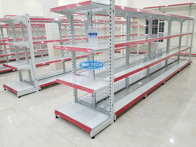 Onetech SX kệ siêu thị tại Quảng Ngãi chất lượng số #1 trên thị trường