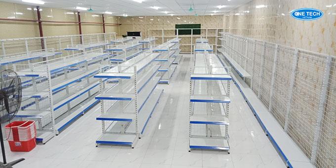 Tổng quan siêu thị tại Kim Thành, Hải Dương với diện tích hơn 100m2